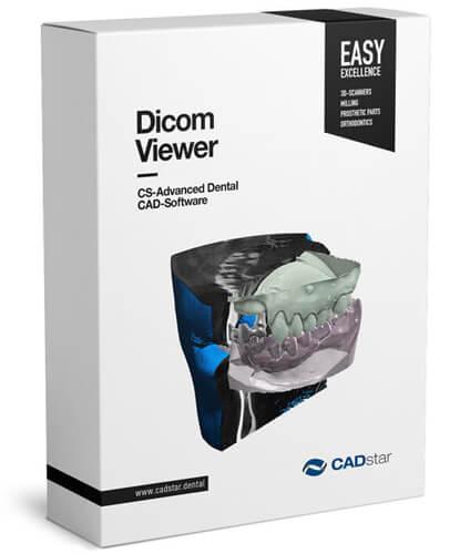 <h4>DICOM Viewer</h4> <br> Mit einem freigeschaltetem DICOM Modul erlaubt Ihnen unsere CAD Plattform die Visualisierung von Voxel Daten aus CT-Geräten während des Designprozesses Ihrer Restaurationen. Dank dem integrierten HTTP Server ist es der CAD Plattform möglich, Daten von Implantat- und Zahnpositionen mit Implantatplanungssoftware von Drittanbietern auszutauschen.