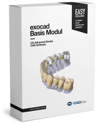 <h4>CS Exocad Basis Modul</h4> <br> Großartig für Einsteiger, mächtig in den Händen von Experten. Das CS Exocad Basis Modul ist bekannt für seine schnelle und einfache Bedienung - Sie hilft Ihnen Kosten zu sparen und Ihre Produktivität zu maximieren. Es ist selbst bei täglichen komplexen Arbeiten robust und verlässlich.