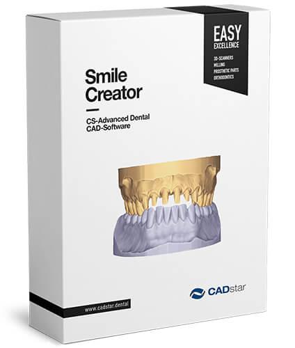 """<h4>Smile Creator</h4> <br> """"Schaffen Sie Mehrwert mit Smile Creator – mit der innovativen in-CAD Smile Design Lösung für vorhersehbare ästhetische """"Smile Makeovers"""". Integriert in exocad ermöglicht der Smile Creator den Dentallaboren, die prothetische Machbarkeit schon während der ästhetischen Planung zuverlässig zu beurteilen – dank der innovativen 2D/3D-Technologie.<br>•Laden Sie Patientenfotos in exocad. Diese werden in 3D-Objekte konvertiert, die auf 3D-Scans gematcht werden können.<p></p><hr style=""""margin-top: -3px;""""><p style=""""font-size: 0.85em; line-height: 1.3em; max-width: 400px; position: relative !important; margin-left: auto !important; margin-right: auto !important;""""><br><strong>Eigenschaften:</strong><br>•Laden Sie Patientenfotos in exocad. Diese werden in 3D-Objekte konvertiert, die auf 3D-Scans gematcht werden können. •Fügen Sie automatisch Hilfslinien hinzu und bearbeiten Sie diese •Wählen Sie aus der umfangreichen Bibliothek geeignete Zahnformen aus •Verwenden Sie die einfachen 2D-Tools zum Bearbeiten der 3D-Formen •Betrachten Sie das Ergebnis in 3D aus verschiedenen Blickwinkeln in Echtzeit<br>Der Smile Creator ist erhältlich als Add-on-Modul für exocad DentalCAD oder als Stand-Alone Version.""""</p>"""